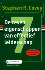 De zeven eigenschappen van effectief leiderschap (nieuwe vertaling) Stephen R Covey ISBN 9789047054641