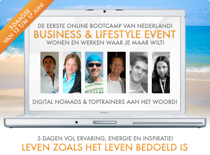 Life online business lifestyle event